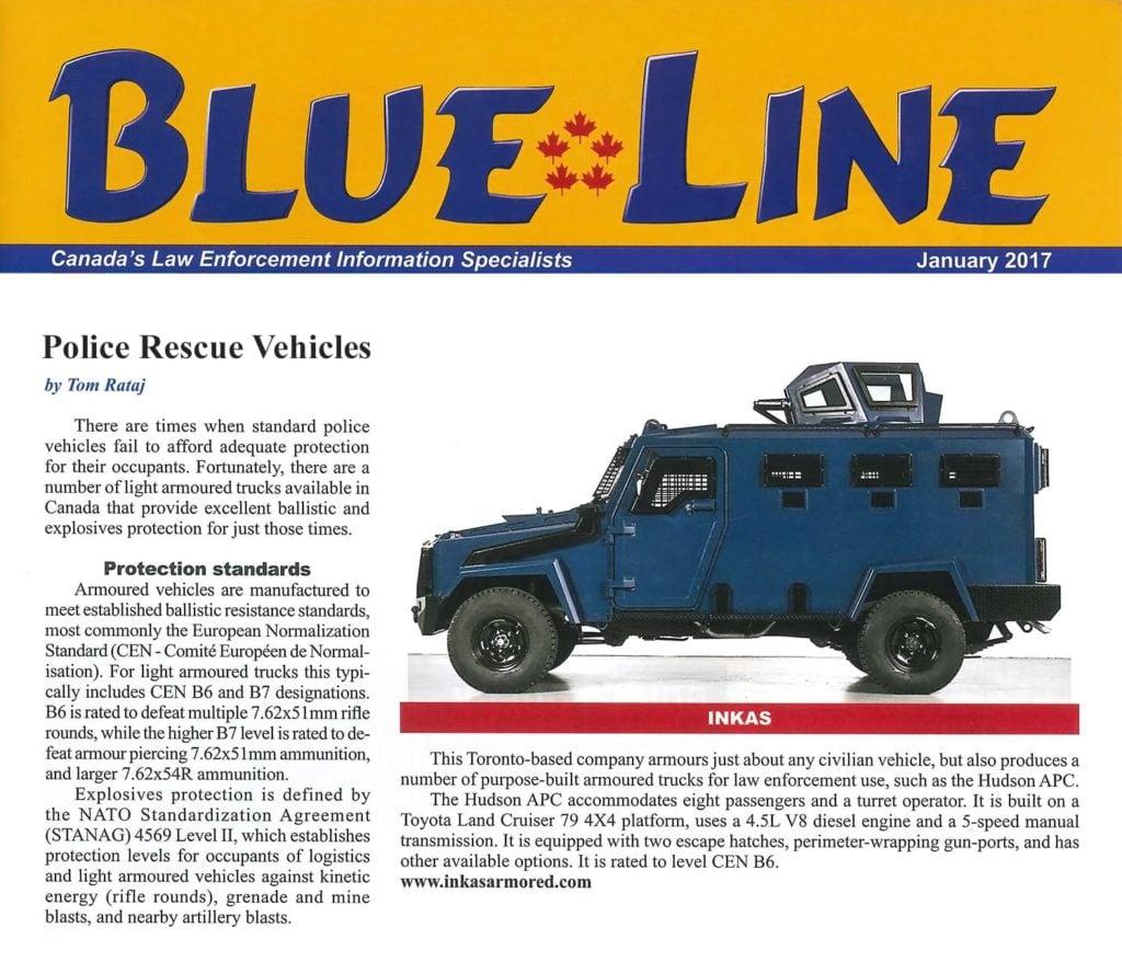 blue line inkas hudson