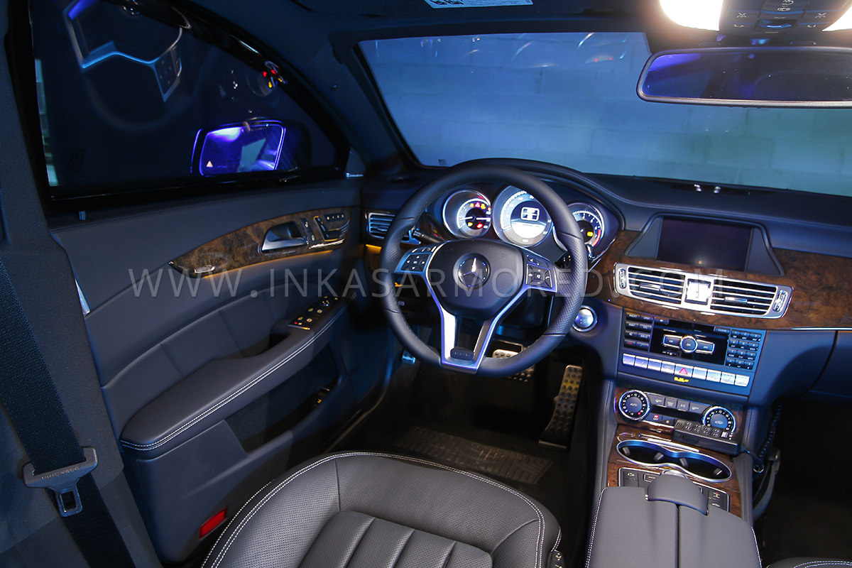 Armored MercedesBenz CLSClass For Sale  INKAS Armored Vehicles
