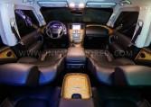 Bulletproof Infiniti QX80 Interior