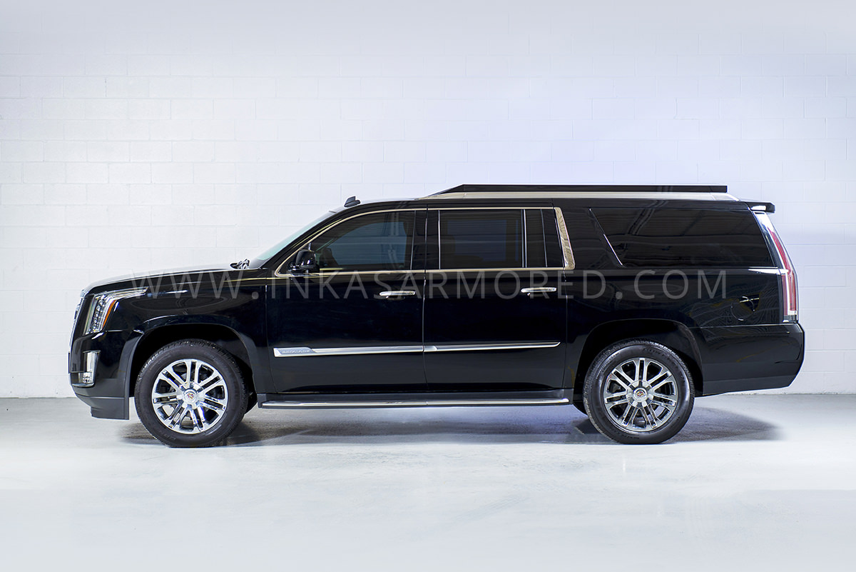 Cadillac cadillac escalade weight : Cadillac Escalade Armored Limousine For Sale - INKAS Armored ...