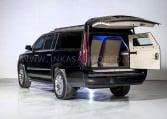 Cadillac Escalade Limousine Rear Door Open