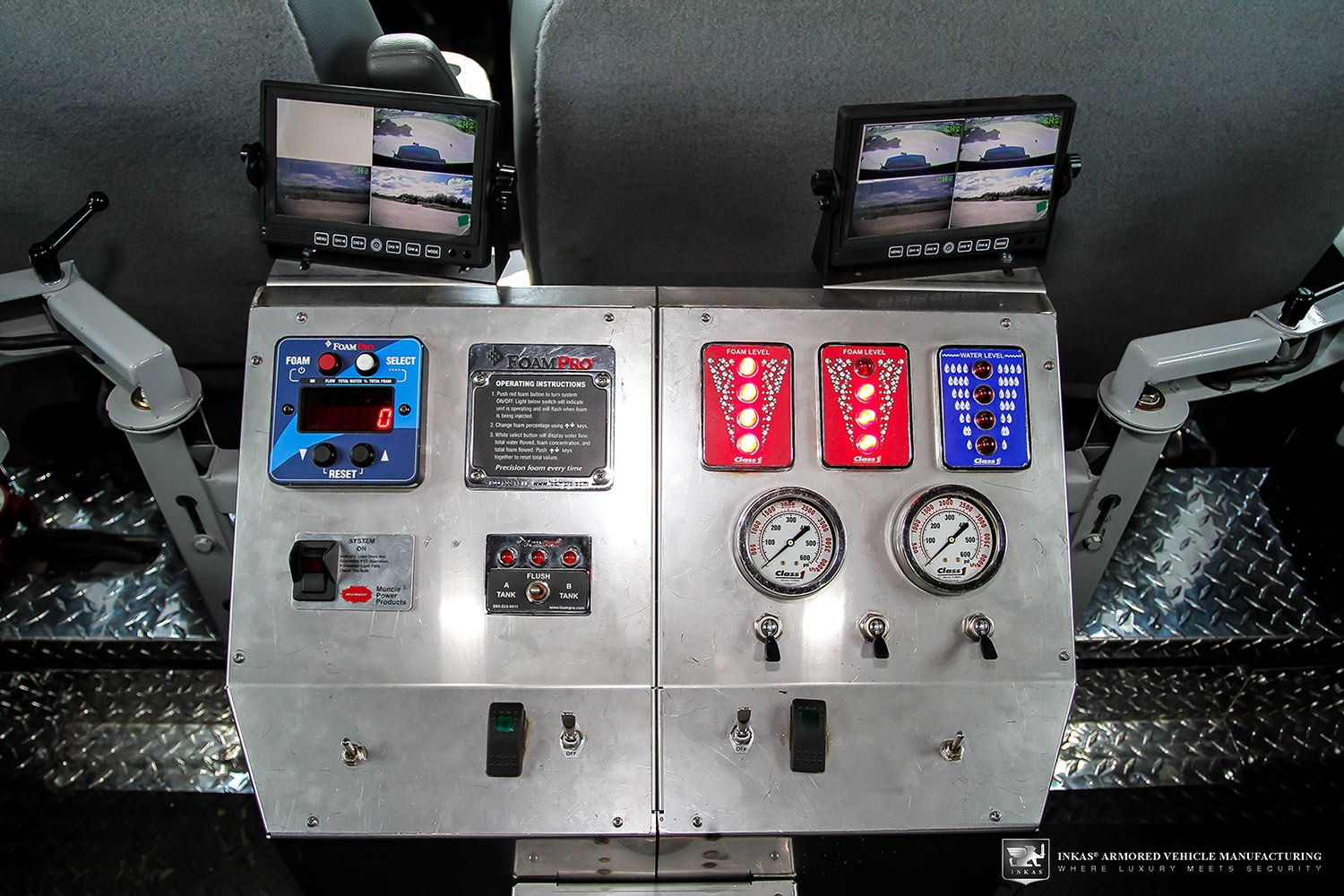INKAS® Riot Control Vehicle For Sale - INKAS Armored Vehicles ...