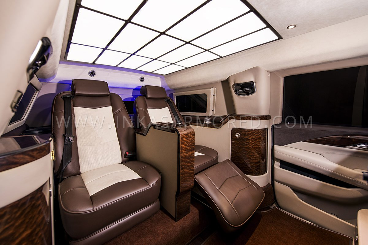 Cadillac Escalade Armored Limousine For Sale Inkas Armored
