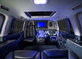 Custom Luxury Interior Armored Limousine LX 570