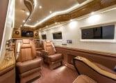 Custom Luxury Sprinter Limousine Interior