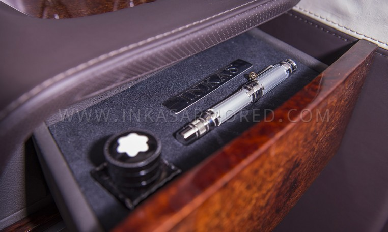 Custom Montblanc Pen Inside G63 Armored Limousine