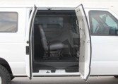 Ford E350 11-Passenger Interior
