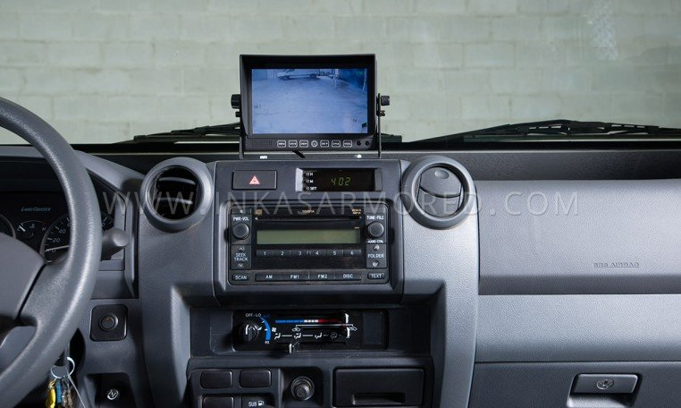 Ford F-550 Cash In Transit Vehicle Interior