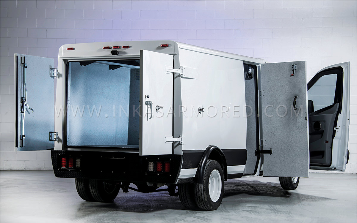Ford Transit 350HD Cash In Transit Vehicle For Sale - INKAS Armored ...