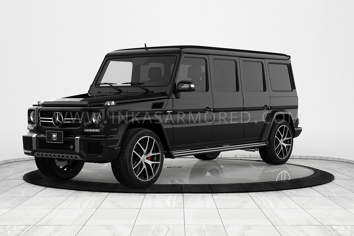 126579f8ec9433 Bulletproof Mercedes-Benz G-Wagon G63 Limo For Sale