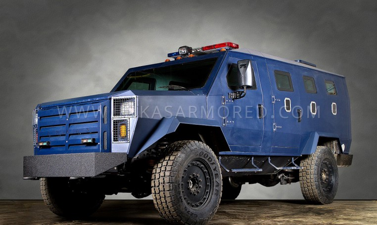 INKAS Armored LAPV APC Transport