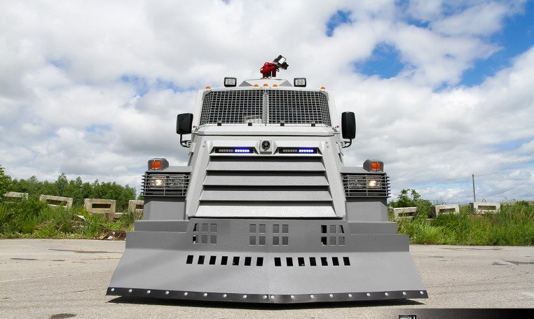 INKAS Armored Riot Control Vehicle