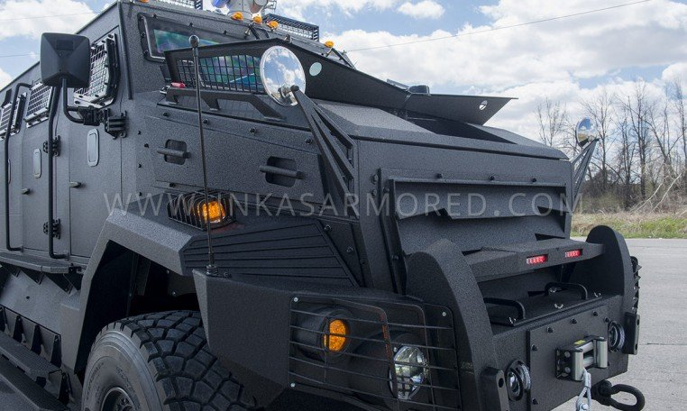 INKAS Huron APC Rear Door