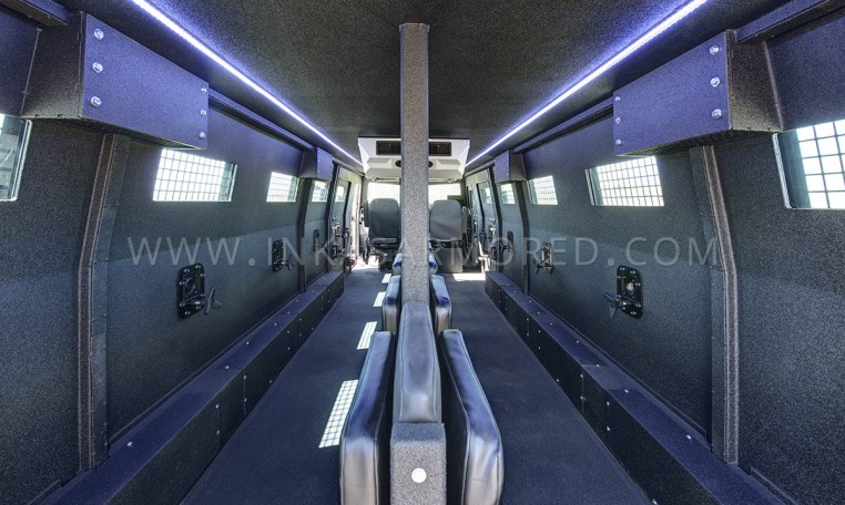 INKAS Huron APC Interior Compartment