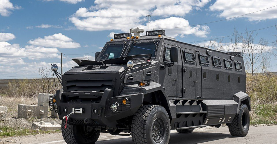 INKAS Huron APC Tactical Vehicle