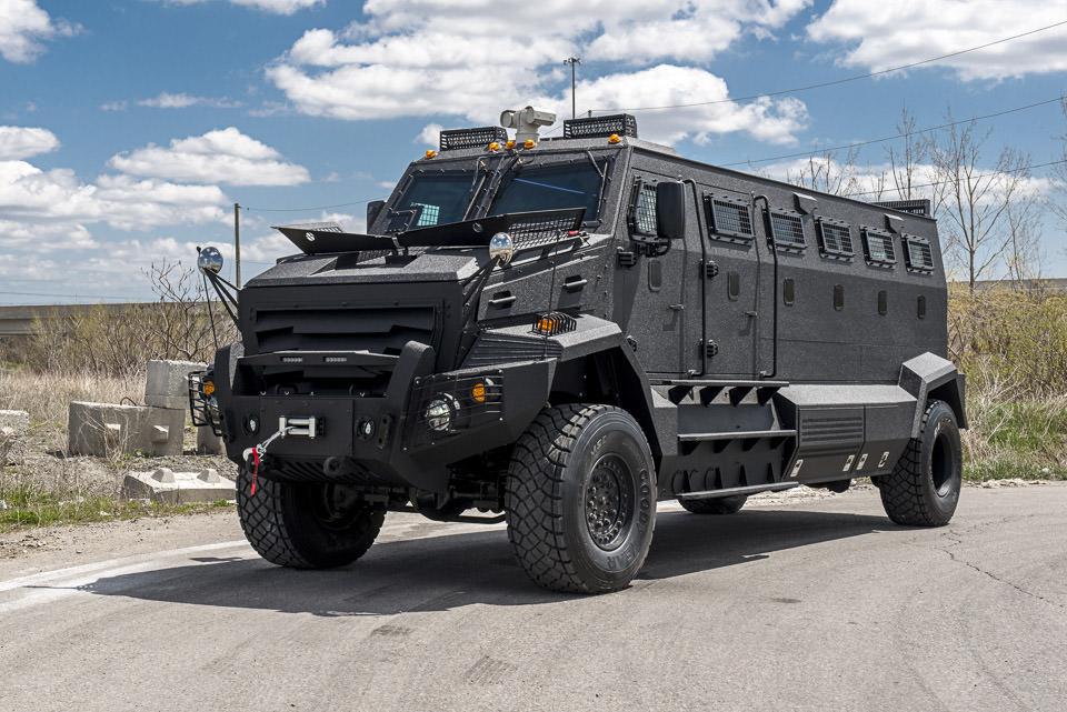Bulletproof Cars: Unique Armored Personnel Carrier