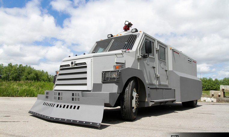 Armored Vehicles For Sale >> INKAS® Riot Control Vehicle For Sale - INKAS Armored ...