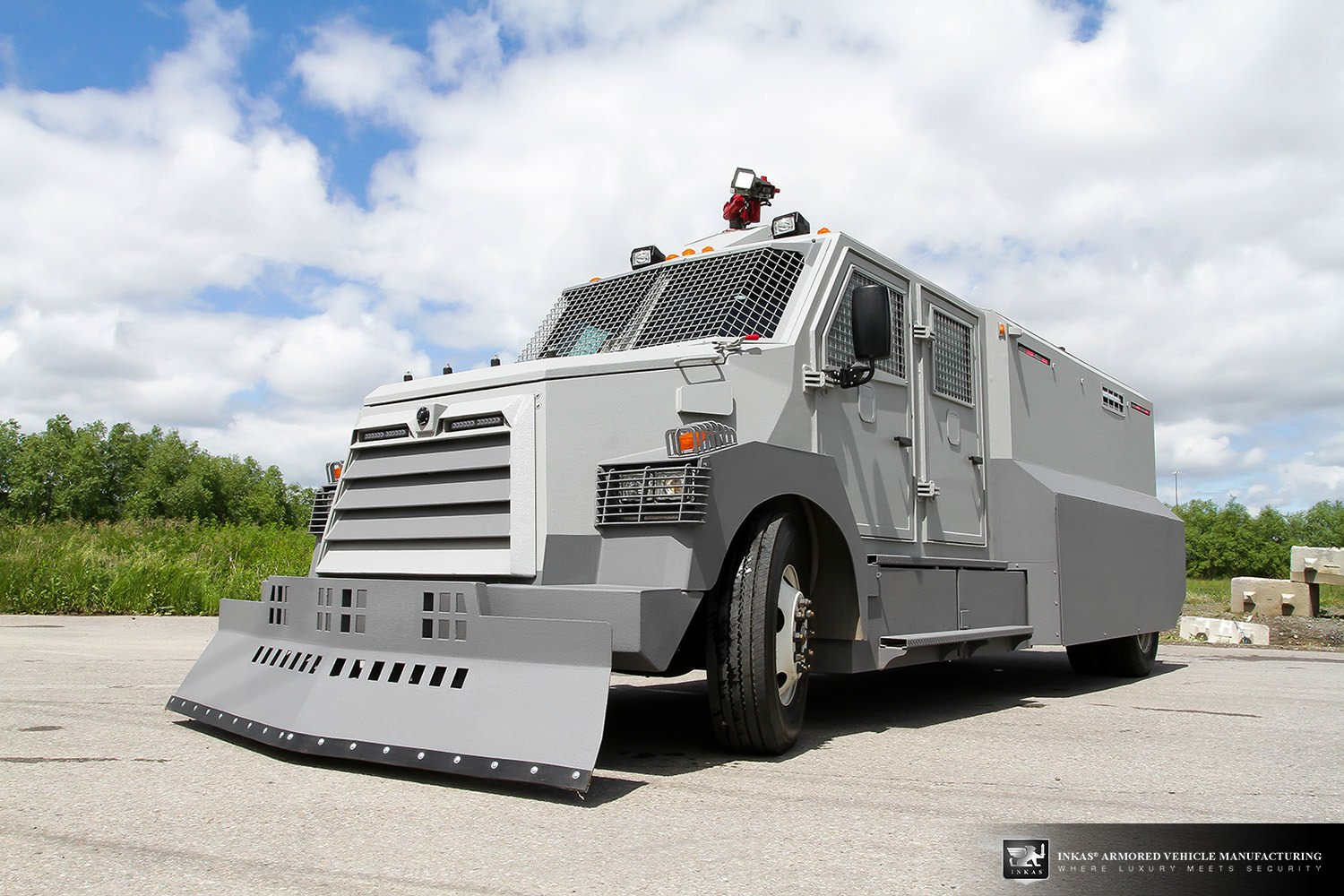 INKAS® Riot Control Vehicle For Sale - INKAS Armored ...
