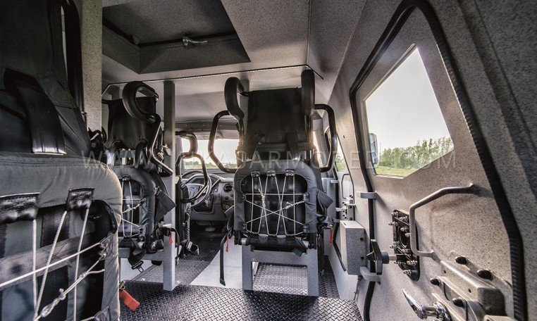 INKAS Sentry APC Interior