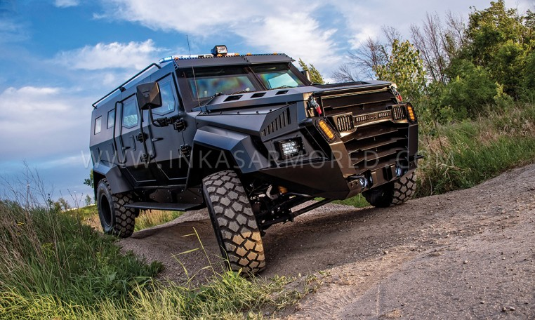 INKAS Sentry APC Tactical Vehicle