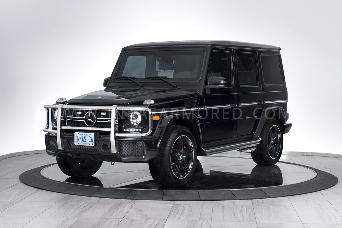 Mercedes-Benz G63 AMG For Sale - INKAS Armored Vehicles ...
