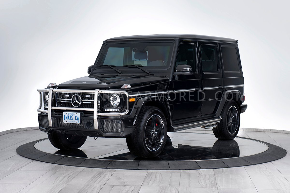 Mercedes Benz G63 Amg For Sale Inkas Armored Vehicles