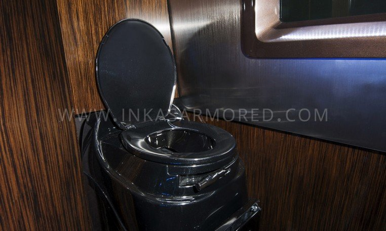 LavatoryinsideArmoredMercedes BenzSprinterLimo