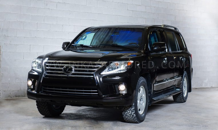 Lexus LX 570 Armored Custom Limo by INKAS