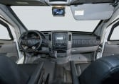 Mercedes-Benz CIT Armored Cash Truck by INKAS Front Cabin