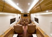 Mercedes-Benz Sprinter Armored Limousine Interior