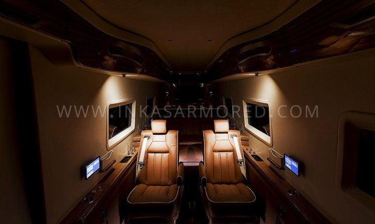 Mercedes-Benz Sprinter Armoured Limo Interior