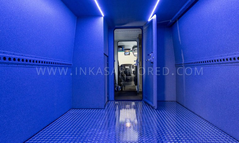 Mercedes-Benz Sprinter Cash In Transit Interior Compartment