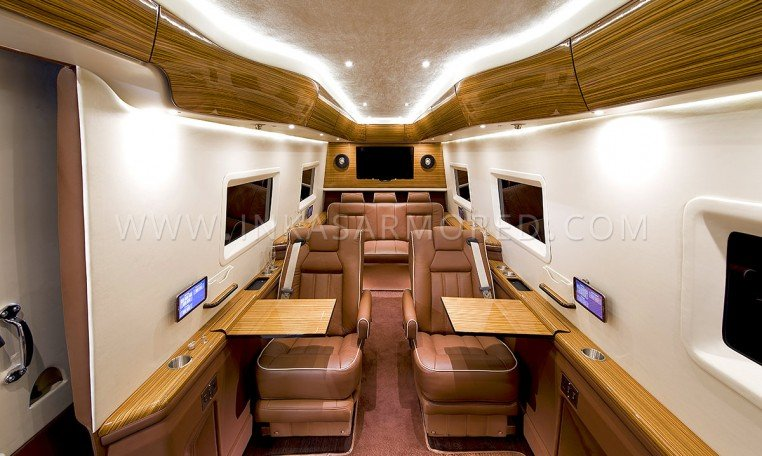 Mercedes-Benz Sprinter Limousine Interior