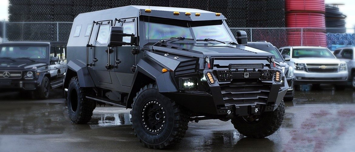 Military Vehicles For Sale Canada >> Canadian Armored Vehicle Manufacturer Releases A Civilian