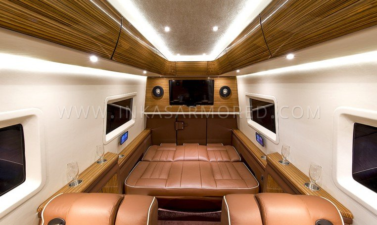 Sprinter Armored Limousine Interior