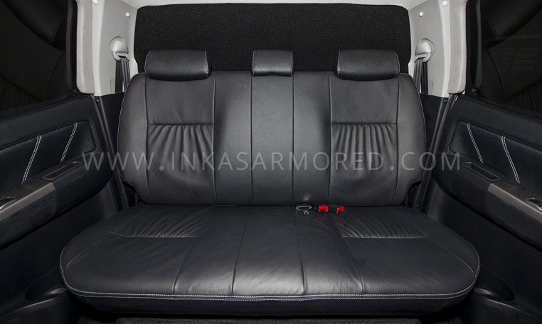 Toyota Hilux CIT Rear Seats